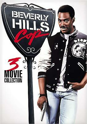 NEW!!! Beverly Hills Cop 3-Movie Collection Box Set (DVD, 2018) With Slipcover