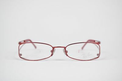 07bad9aa79c9f Ray Ban Titane Rb1015t 3021 46 16 125 Rouge Ovale Monture Lunettes Neuf