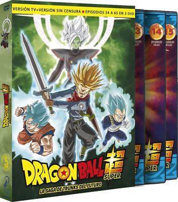 Dragon Ball Super Box 5 Saga DVD TRUNKS FUTURO DVD  ESPAÑOL CASTELLANO NUEVO