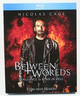 Between Worlds Bluray BRAND NEW Slipcover Nicolas Cage Penelope Mitchell
