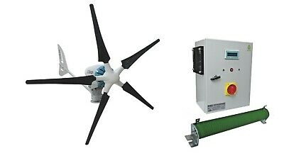 Ista Breeze Heli 2.0 Kw 48v, Wind Generator with Hybrid Charge Controller, Solar