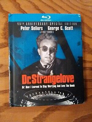 Dr. Strangelove Or How I ...(Blu-ray) NEW Digibook w/corner wear -Peter Sellers