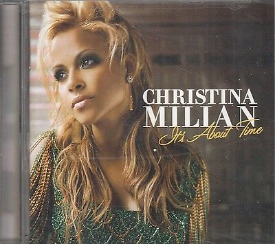 Christina Millan Its About Time CD New Sealed