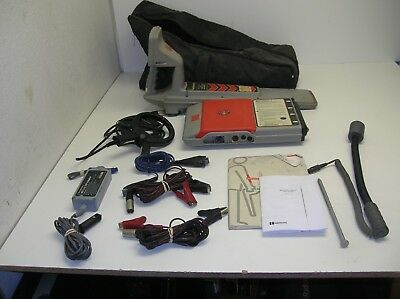 Radiodetection RD400 PDL 433 HCTx Utility Cable Pipe Locator 4000 8000 7000