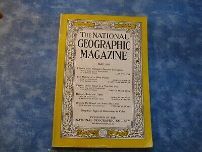 222f6de293bf VINTAGE NATIONAL GEOGRAPHIC May 1952 MAKING OF A WEST POINTER Cyprus THE  TURTLE