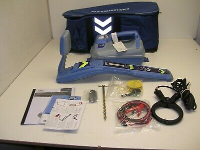 NEW Radiodetection RD8000 PXL 10 Wire Underground Utility Cable Pipe Locator