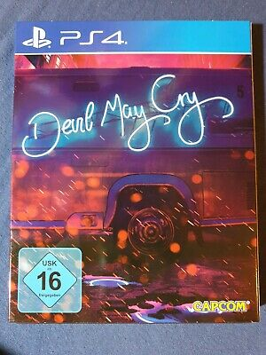 (PS4) Devil May Cry 5 Deluxe Steelbook Edition