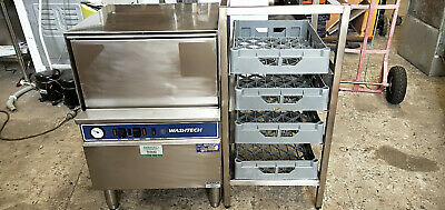 Commercial Glasswasher with Rack