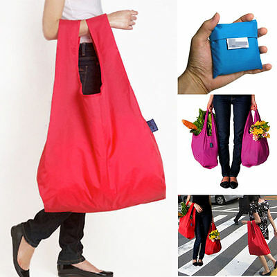 1PC Women Reusable Foldable Grocery Bag Large Capacity Shopping Bag Eco-Friendly