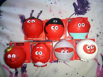 Comic Relief 2019 Red Nose Day Noses Set of 7