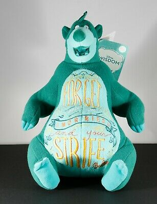 BALOO DISNEY WISDOM Collection March 2019 Disney Store PLUSH New, In Hand