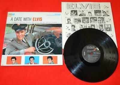"""""""A Date with Elvis""""  AFL1-2011 Hard to find 1977 Transition Pressing M-/M"""