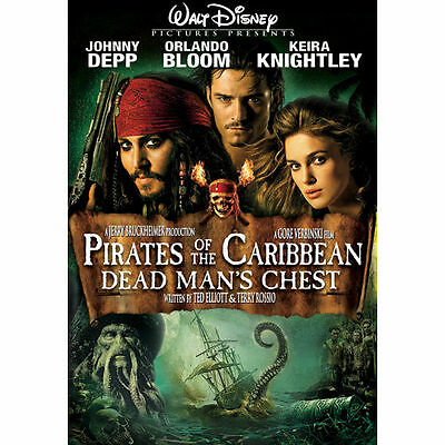 Pirates of the Caribbean Dead Mans Chest (DVD NEW Factory Sealed Widescreen)