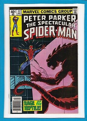Peter Parker, The Spectacular Spider-Man #32_July 1979_Nm Minus_Bronze Age!