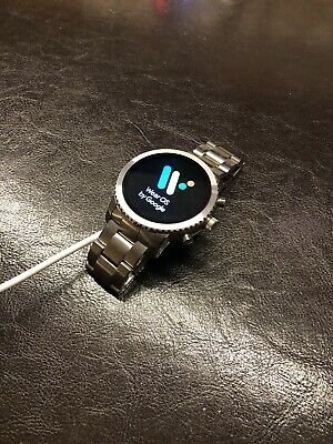 Fossil Gen 3 Q Explorist 44mm Stainless Steel Case