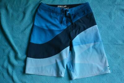 BILLABONG Surfwear Blue Tones BOARDSHORTS Teens Size 14 New. Stretch-Quick Dry
