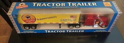 Brad NEW Shop Rite tractor Trailer  LIMITED Edition Collection