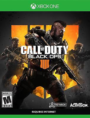 CALL OF DUTY BLACK OPS 4 Xbox One      *BRAND NEW FACTORY SEALED*