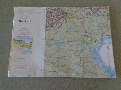 1965 Large Map - China Japan Korea  ONC G-10 Operational Navigation Chart