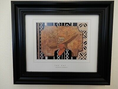 Dexter Griffin The Hat 1 1999 African American Art Print FRAMED
