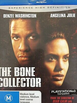 THE BONE COLLECTOR - BLURAY 2008 AS NEW! All Region