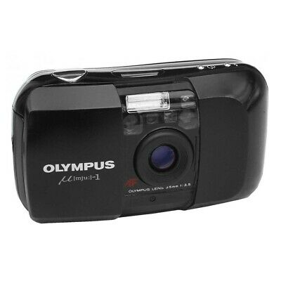 olympus µ[mju:]-1 compact film camera - Excellent condition