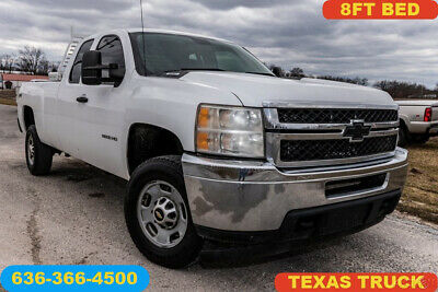 2011 Chevrolet Silverado 2500 Work Truck 2011 Work Truck Used 6L V8 Automatic 4WD Pickup 8 ft bed 1 owner rust free white