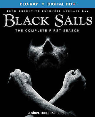Black Sails: The Complete First Season (Blu-ray Disc, 2015, Includes Digital Co…
