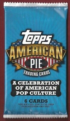 2011 TOPPS AMERICAN PIE Pieces Memorabilia Relic HOT PACK Authentic USA LIBERTY?