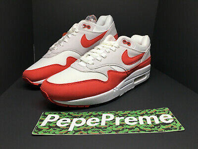 NIKE AIR MAX 1 30th Anniversary University Red OG 2017 Size