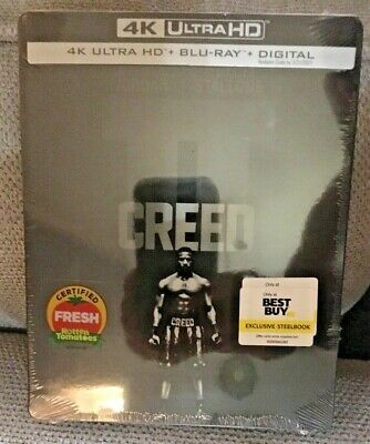 New! Creed Ii 2 2018 Steelbook 4K Ultra Hd + Blu-Ray + Digital Best Buy