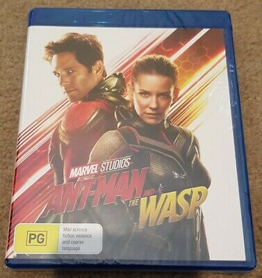 Ant-Man and the Wasp Blu Ray Brand New & Sealed