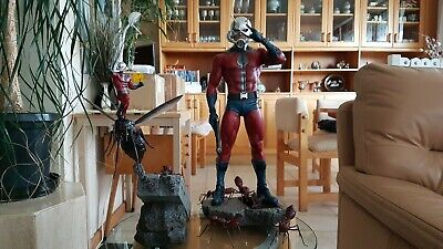 XM Studios Antman Statue with Coin. New, never displayed!
