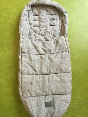 Mamas and Papas  Gray Cold Weather  Universal Footmuff Cosytoes