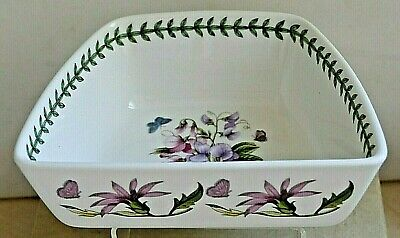 PORTMEIRION Botanic Garden ~ Vegetable Serving Dish ~ Sweet Pea Pattern