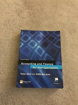 accounting and finance for non-specialists: Peter Atrill, Eddie Mclaney