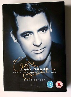 CARY GRANT  Signature Collection ( DVD, 5-Disc Box Set, ) 2009