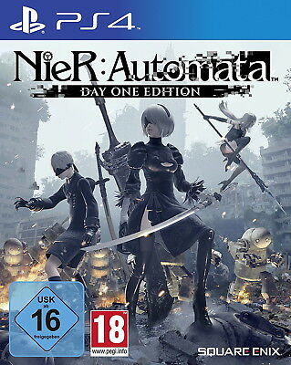 NieR Automata PS4 (Sony PlayStation 4, 2017) wie NEU!