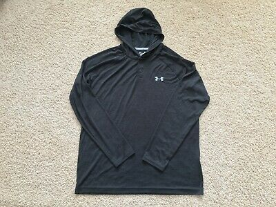 f16e65bd UNDER ARMOUR HEAT Gear Tech Popover Hoodie men M - $19.50 | PicClick