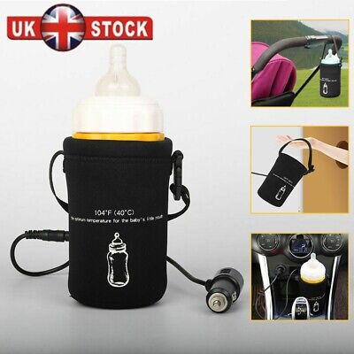 Car Travel Milk Bottle Warmer Warming  Warm Bottle Thermal Bag Deluxe Portable