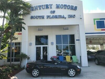2004 Mercedes-Benz SLK-Class  Leather Fog Lights CD Changer Homelink Alloy Wheels Power Top