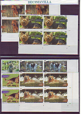 Cuba, 2014-46, Perros, Dogs, Chiens, Bl. 4, Sin Dentar, Imperforated