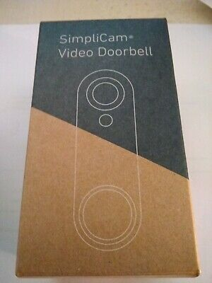 Brand New SimpliSafe SimpliCam Video Doorbell