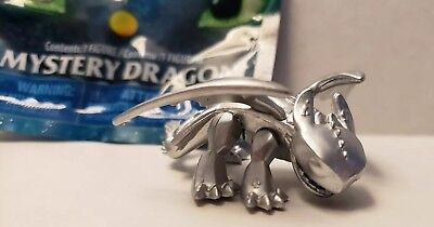 How to Train Your Dragon The Hidden World Mystery Dragon Silver