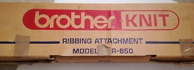 Brother KR 850 Ribbing Attachment Complete Boxed With Instructions