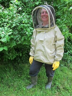 PREMIUM QUALITY Bee Jacket, Fencing Veil - Olive. All Sizes