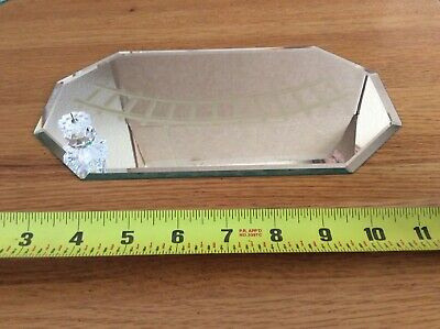 Swarovski Crystal Dealer Display Mirror for Train Set - RARE!!!