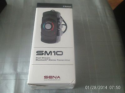 Sena Sm10  Dual Stream Bluetooth Transmitter ( Motercycles) Bnib