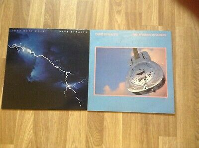 dire straits original vinyl lps of brothers in arms and love over gold