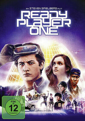 Ready Player One - Steven Spielberg 2018 (DVD)